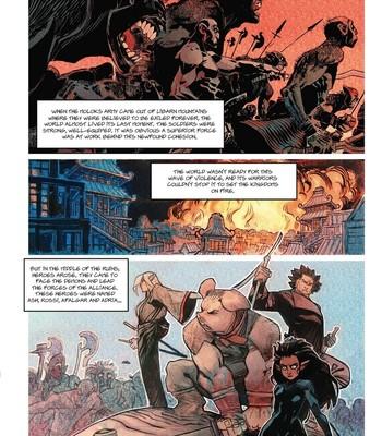 Porn Comics - The Battle For Crimsonfall