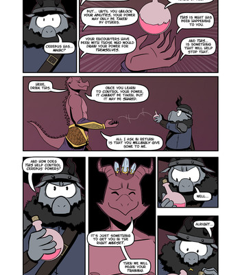The Black Book Of Cerebus 3 – Earth-Pig Born comic porn sex 003