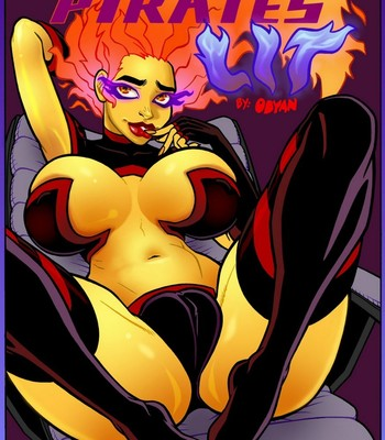 The Black Comet Pirates – Lit comic porn thumbnail 001