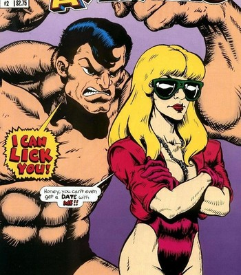 Porn Comics - The Blonde Avenger 2