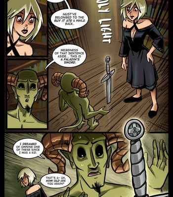 The Cummoner 13 - The apprentice comic porn sex 003