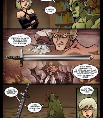 The Cummoner 13 - The apprentice comic porn sex 004