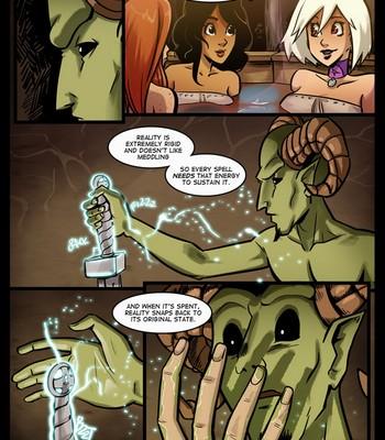 The Cummoner 13 - The apprentice comic porn sex 012