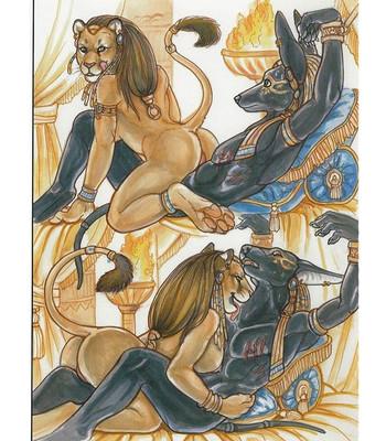 The Dark Desires Of Sekhmet comic porn sex 007