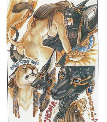 The Dark Desires Of Sekhmet comic porn sex 008