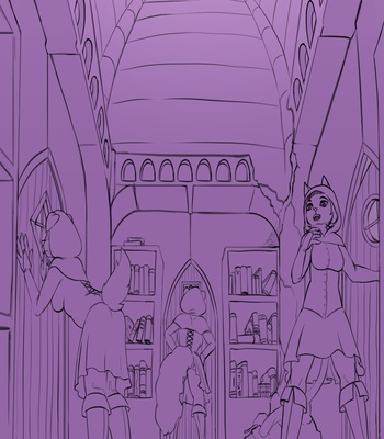 The-Dark-Library 2 free sex comic
