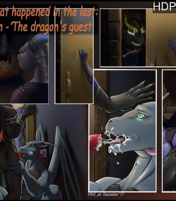 The Dragon's Guest comic porn sex 001