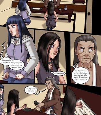 Porn Comics - The Fate Of The Hyuga Sisters