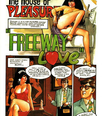 Porn Comics - The House Of Pleasure – Freeway Love