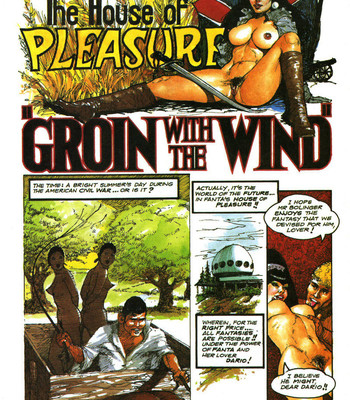 Porn Comics - The House Of Pleasure – Groin With The Wind