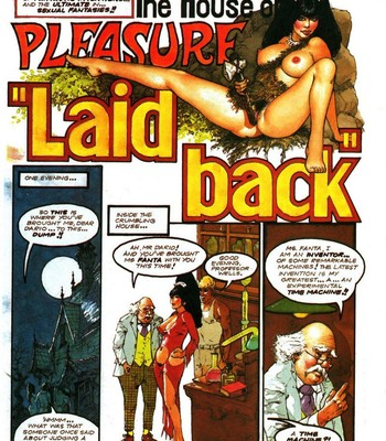 Porn Comics - The House Of Pleasure – Laid Back