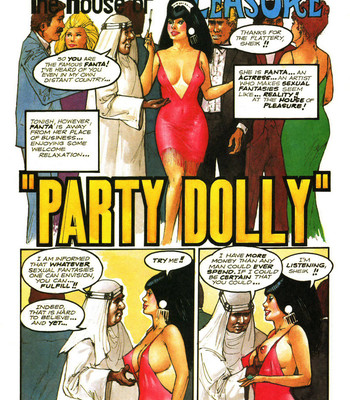 Porn Comics - The House Of Pleasure – Party Dolly