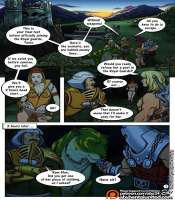 The-Hunt-Alx 2 free sex comic