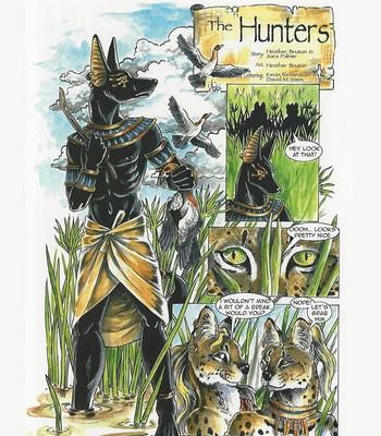 Porn Comics - The Hunters
