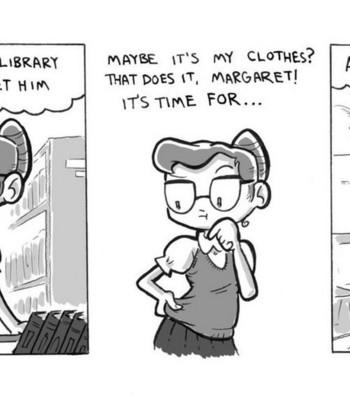 Porn Comics - The Librarian's New Sweater