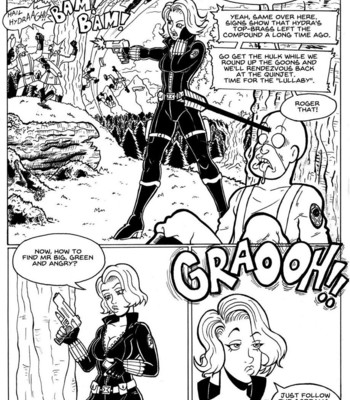 Porn Comics - Parody: Black Widow