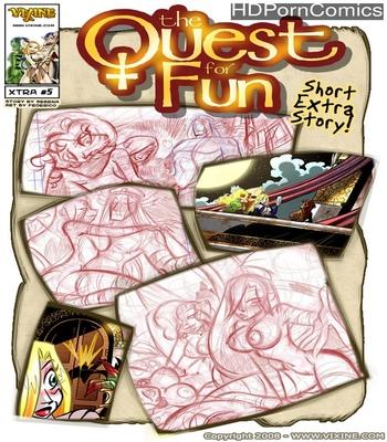 Porn Comics - The Quest For Fun – Extras 5