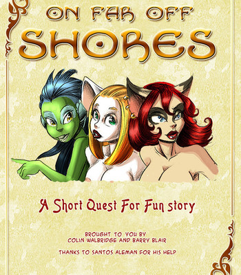 The Quest For Fun – Extras 6 – On Far Off Shores comic porn thumbnail 001