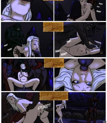 The Sad Tale Of Celebrian comic porn sex 004