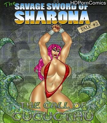 Porn Comics - The Savage Sword Of Sharona 2 – The Call Of Cucucthu