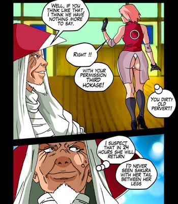 The Secrets Of Konoha comic porn sex 023