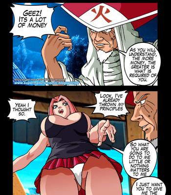 The Secrets Of Konoha comic porn sex 027