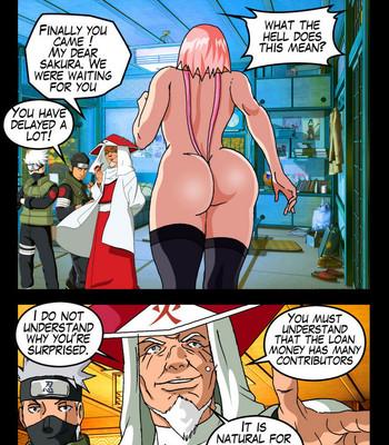 The Secrets Of Konoha comic porn sex 032