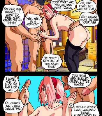 The Secrets Of Konoha comic porn sex 035