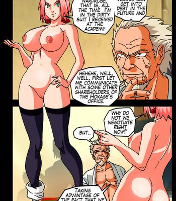 The Secrets Of Konoha comic porn sex 049