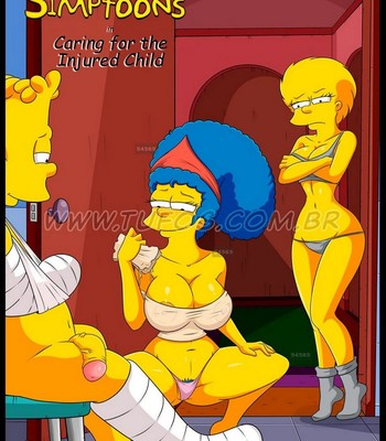 Porn Comics - The Simpsons 11 – Caring For The Injured Child