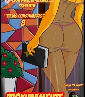 Porn Comics - The Simpsons 8 Old Habits