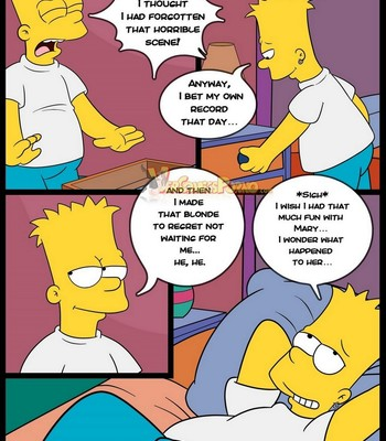 The Simpsons 8 Old Habits comic porn