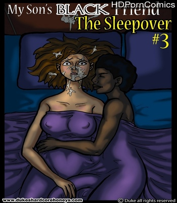 Porn Comics - The Sleepover 3