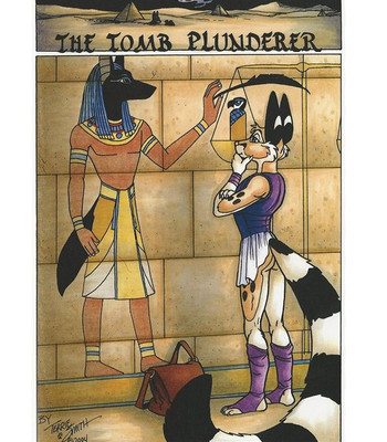Porn Comics - The Tomb Plunderer