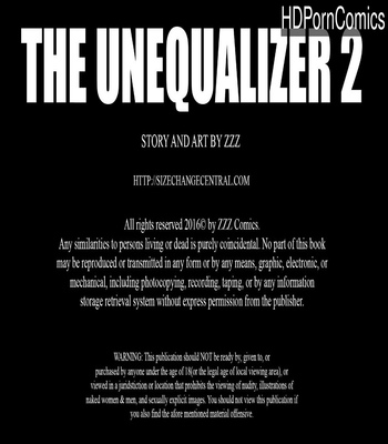 Porn Comics - The Unequalizer 2