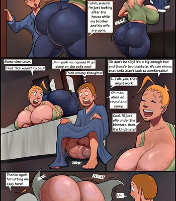The Unexpected Guest comic porn sex 003