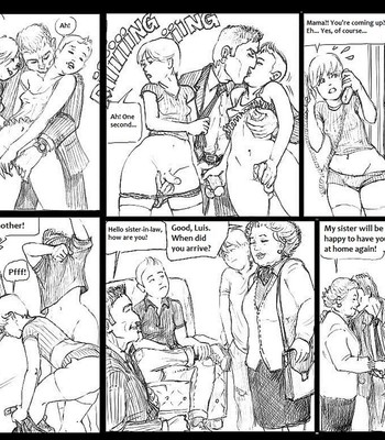 The Visit Of My Uncle Luis comic porn sex 003