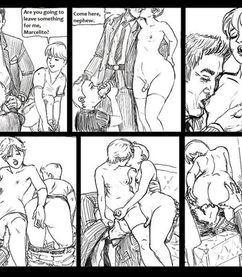 The Visit Of My Uncle Luis comic porn sex 005