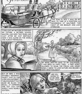 Porn Comics - The Young Governess