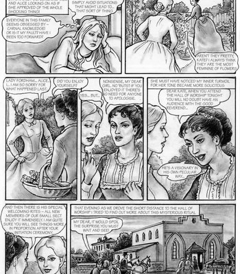 The Young Governess comic porn sex 014