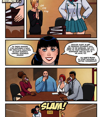 This Romantic World 3 - The Party comic porn sex 011