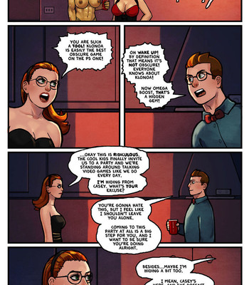 This Romantic World 3 - The Party comic porn sex 017