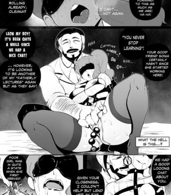 Through The Screen – A Leon NTR Story comic porn sex 005