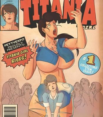 Porn Comics - Titania Girl 1