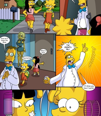Treehouse Of Horror 3 comic porn sex 002