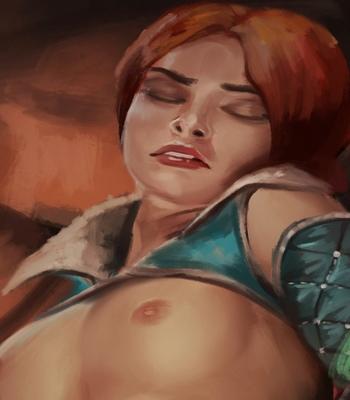 Triss In Trouble comic porn sex 003