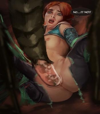 Triss In Trouble comic porn sex 012