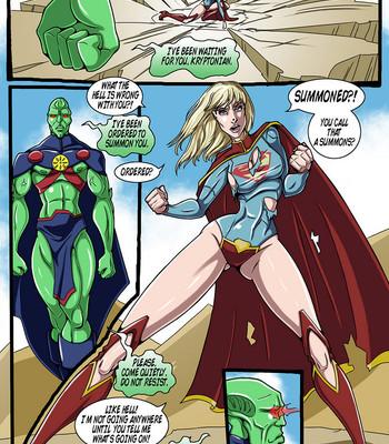 True Injustice Supergirl comic porn sex 020