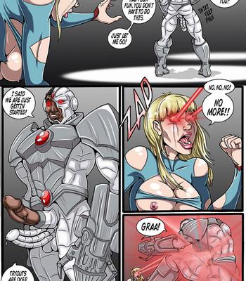 True Injustice Supergirl comic porn sex 036