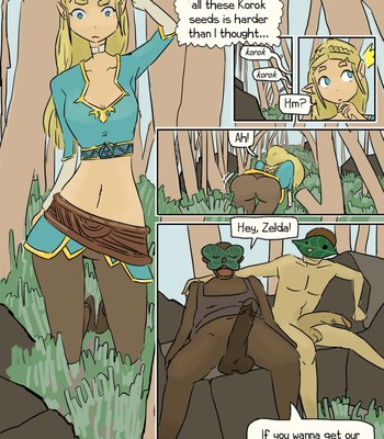 Opinion, interesting The legend of zelda breasts of the wild porn